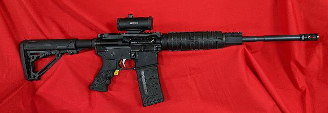 Anderson Rifle 5.56 Magpul With Optic