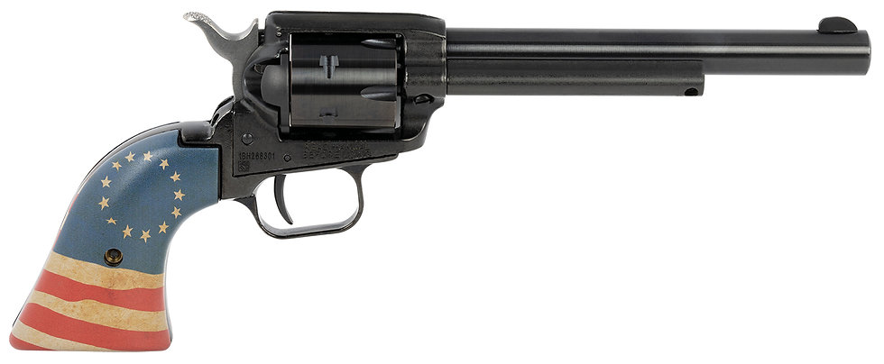 """Heritage Rough Rider 22LR 4.75"""" 6rd Honor Betsy Ross"""
