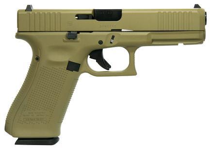 Glock 17 Gen5 9mm 17rd FDE