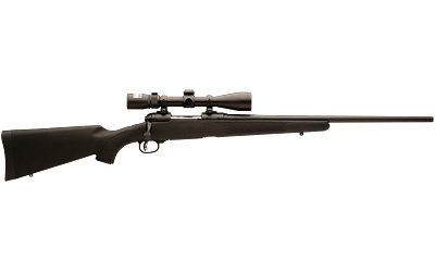 Savage Trophy Hunter 223 Blue W/Nikon 3-9X40 Scope
