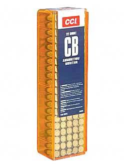 CCI 22 Short CB 29gr RN100ct