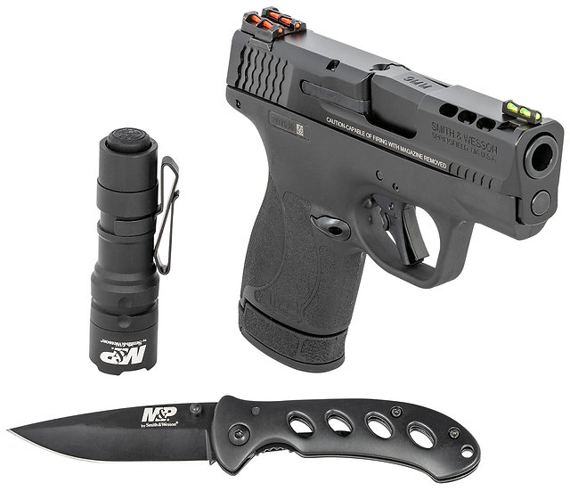 Smith Wesson MP 9mm Shield Plus M2.0 13rd Safety Ported PC