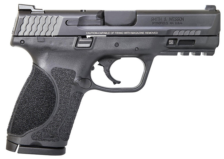 """Smith Wesson MPC 9mm M2.0 Compact 4"""" 15rd No Safety"""