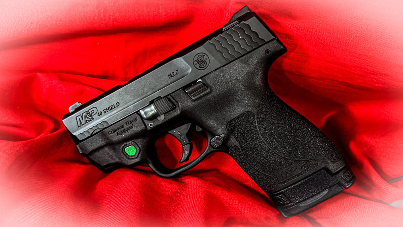 Smith Wesson Shield 2.0 40sw CT Green Laser