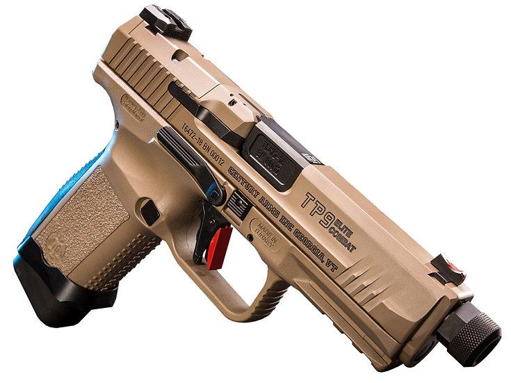 "Canik TP9SF Elite Combat TB 4.7"" 9mm 18rd"