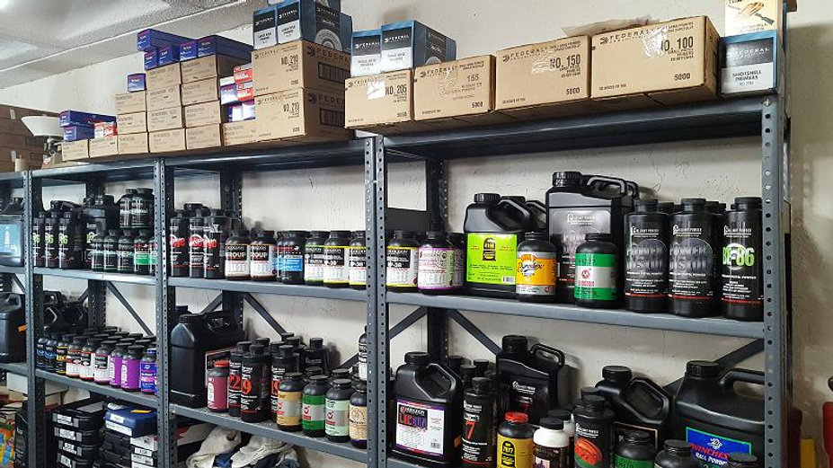 Breckinridge Arms Enid Oklahoma Smokeless Powder Winchester Primers Hodgdon Powder