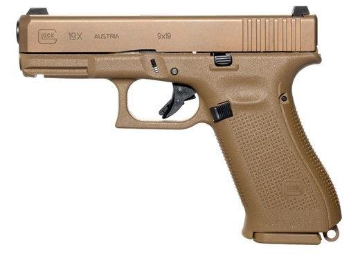 """Glock 19X 9mm 19rd 4"""" NS"""