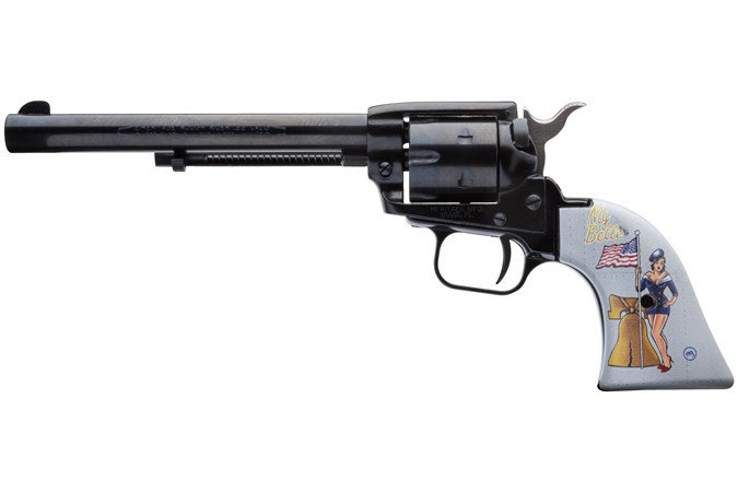 """Heritage Rough Rider 22LR 6rd 6.5"""" Pinup My Belle Talo"""