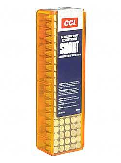 CCI 22 Short 27gr HP 100ct