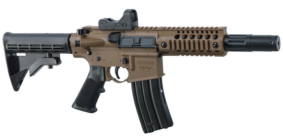 Crosman Bushmaster Full Auto BB Gun With Red Dot Optic