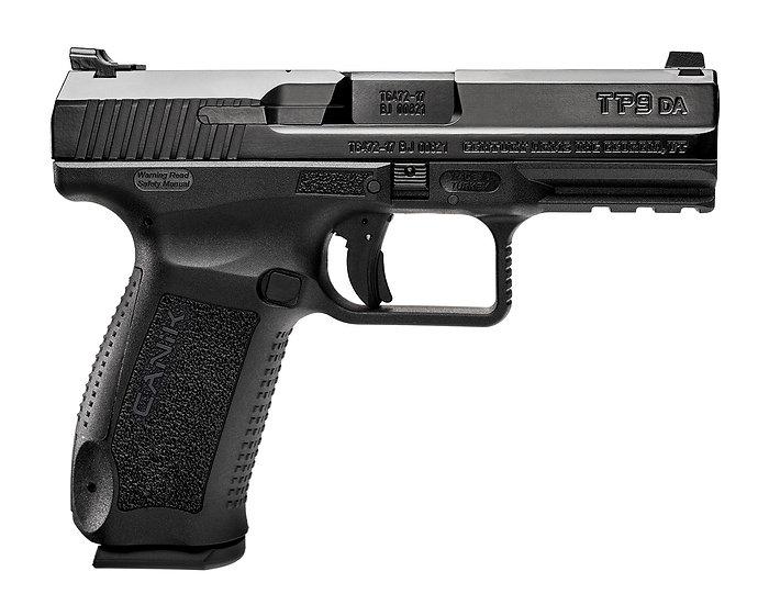"""Canik TP9 DA 4.5"""" 9mm 18rd DA/SA Decocker"""