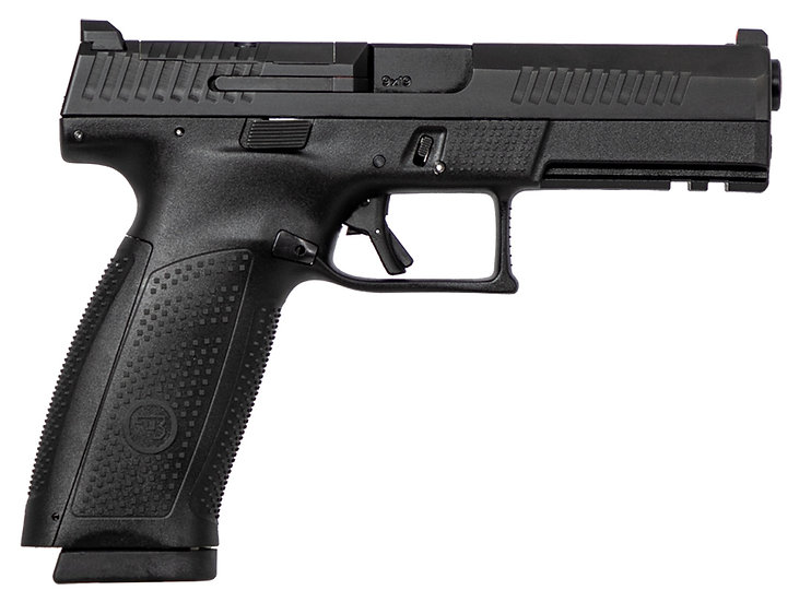 "CZ P10 Full Optic Ready 4.5"" 9mm 19rd"