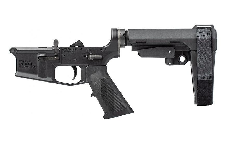 Aero Precision M4E1 Pistol Lower Complete SBA3