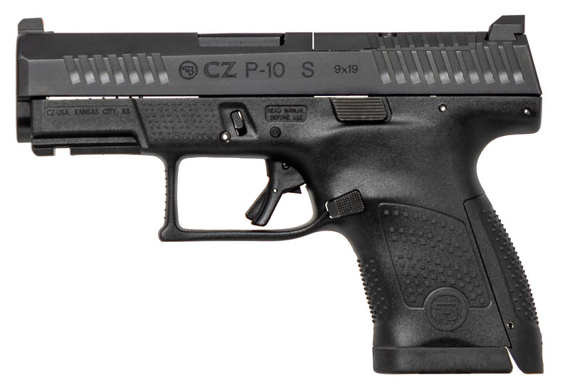 """CZ P10 S Compact 3.5"""" 9mm 12rd"""