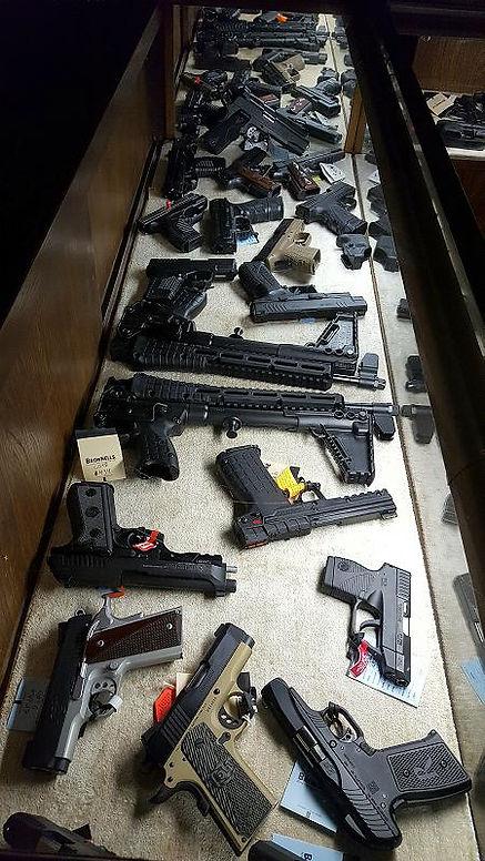 Enid Oklahoma Guns Colt Defender Kimber Keltec Sub2K