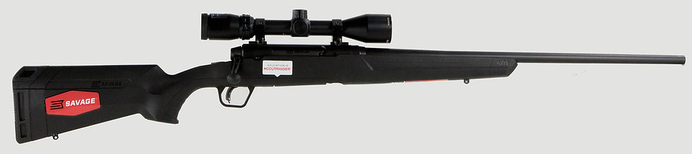 "Savage Axis II XP 30-06 22"" SS 4rd Bushnell"