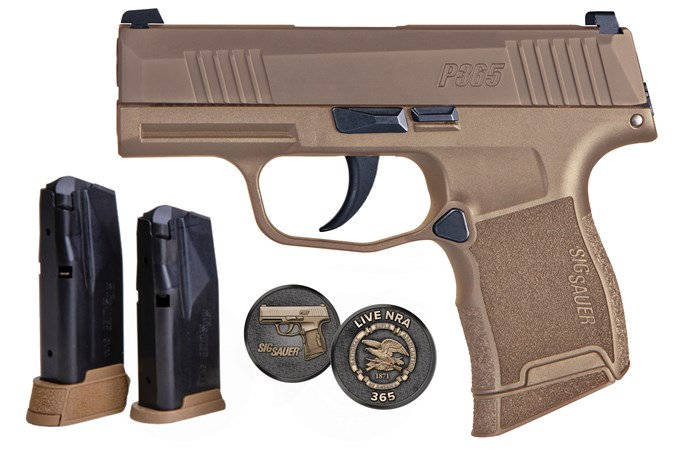 Sig P365 9mm 12rd NRA