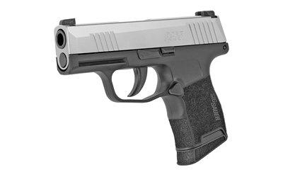 Sig P365 9mm 10rd Silver Slide