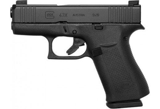 "Glock 43X 10rd 3.41"" 9mm"