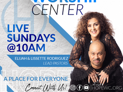 Hope Worship Center App Banner