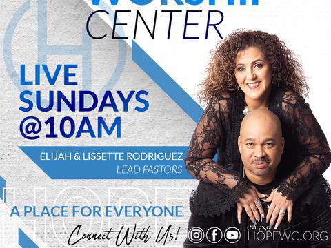 Hope Worship Center App Banner