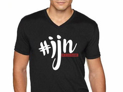 #IJN Mens V-Neck Tee