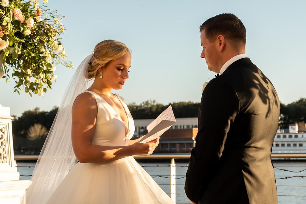 Kirby and Matt's wedding at The Westin in Savannah, Georgia.