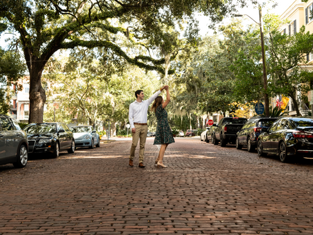 Ally & David - Forsyth Park Proposal - Savannah, Georgia
