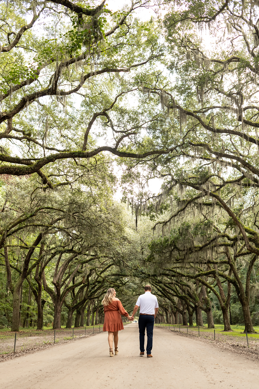 Ashley and Tyler's engagement session at Wormsloe in Savannah, Georgia.