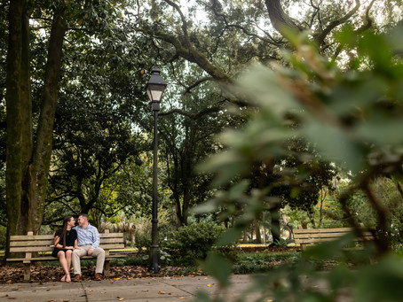 John & Taylor - Forsyth Park Proposal - Savannah, Georgia