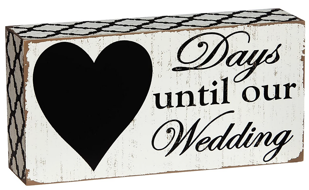 Nine things you need from Amazon for your wedding.