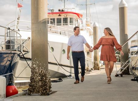 Ashley & Tyler Engagement Session - Wormsloe & Isle of Hope Marina