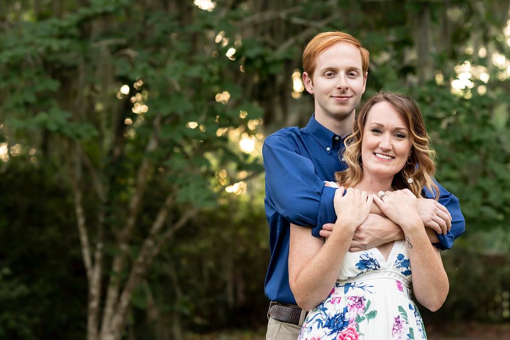 Erica & Scott's Savannah, Georgia engagement photos.