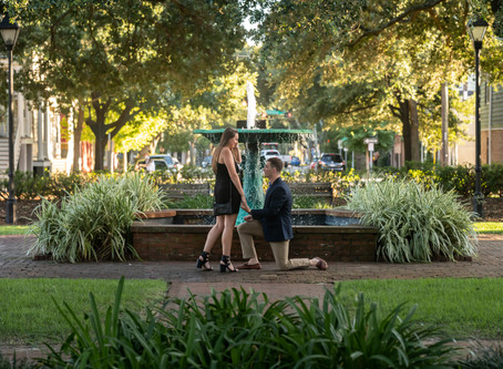 Andrew & Ali - Columbia Square Proposal - Savannah, Georgia