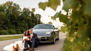 Christabel & Matt's Wedding - All the way in Indiana!