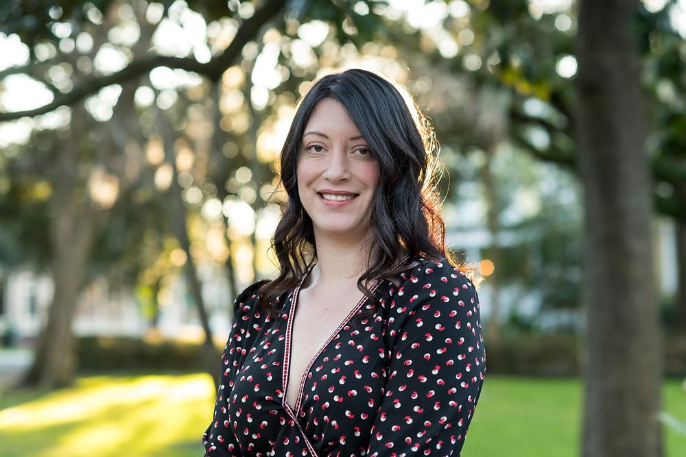 headshot photographer in Savannah, Georgia