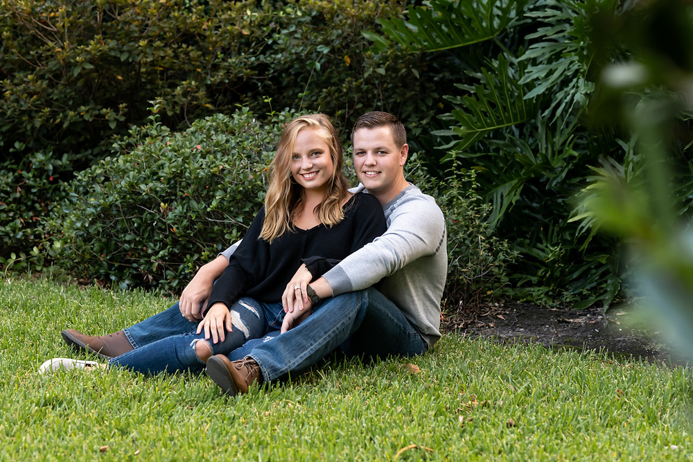 Kirby and Matthew's engagement photos in Savannah, Georgia.