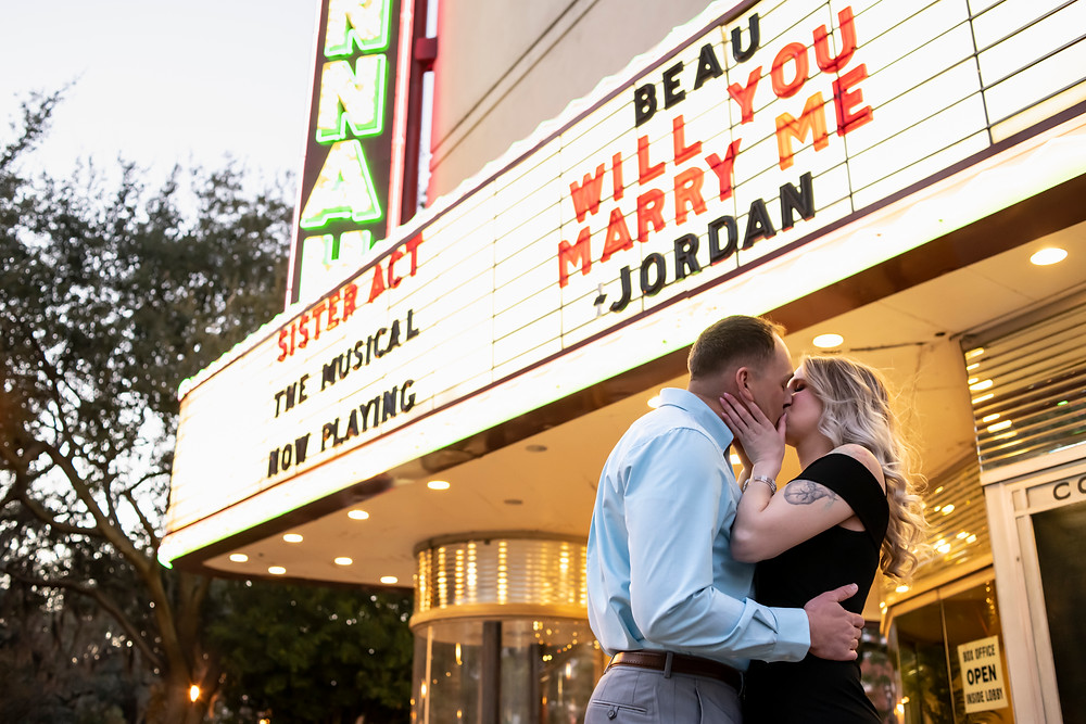 Savannah Georgia Proposal, Savannah Theatre