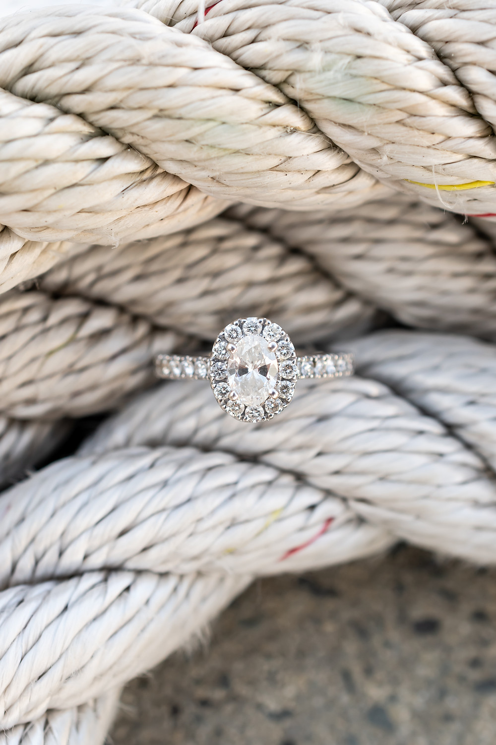 Engagement ring in Savannah, Georgia.