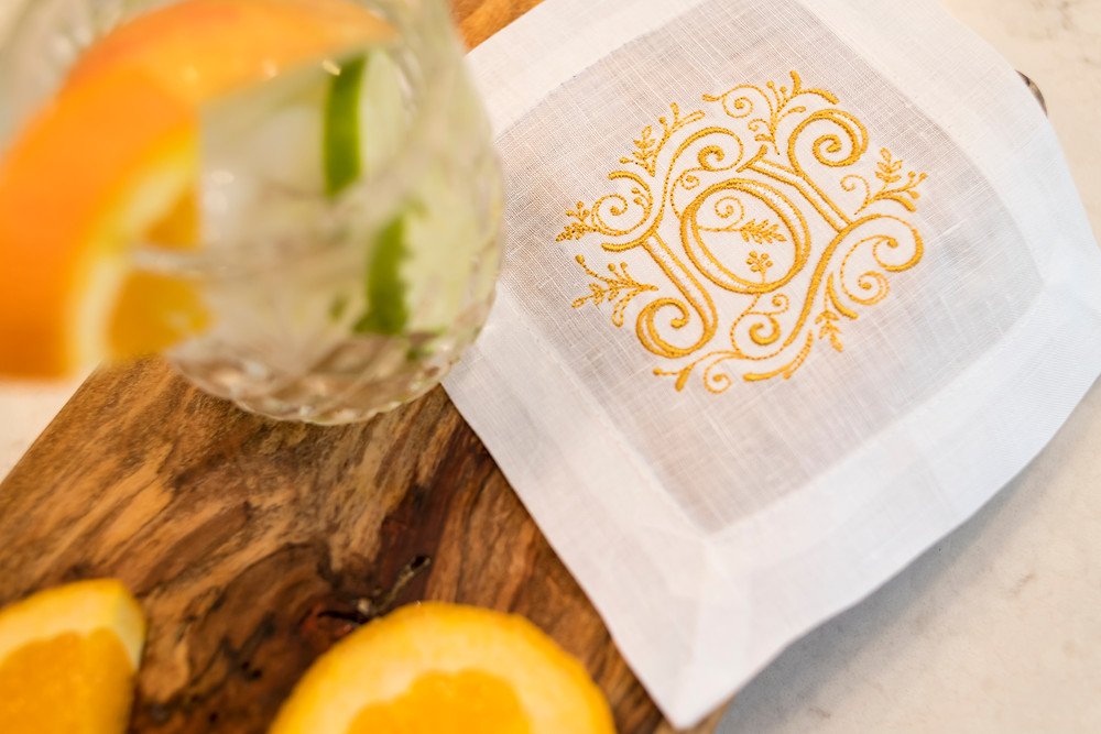 Made in the Shade Cocktail Napkin, How to Plan a Branding Photo Shoot - Savannah, Georgia Photographer