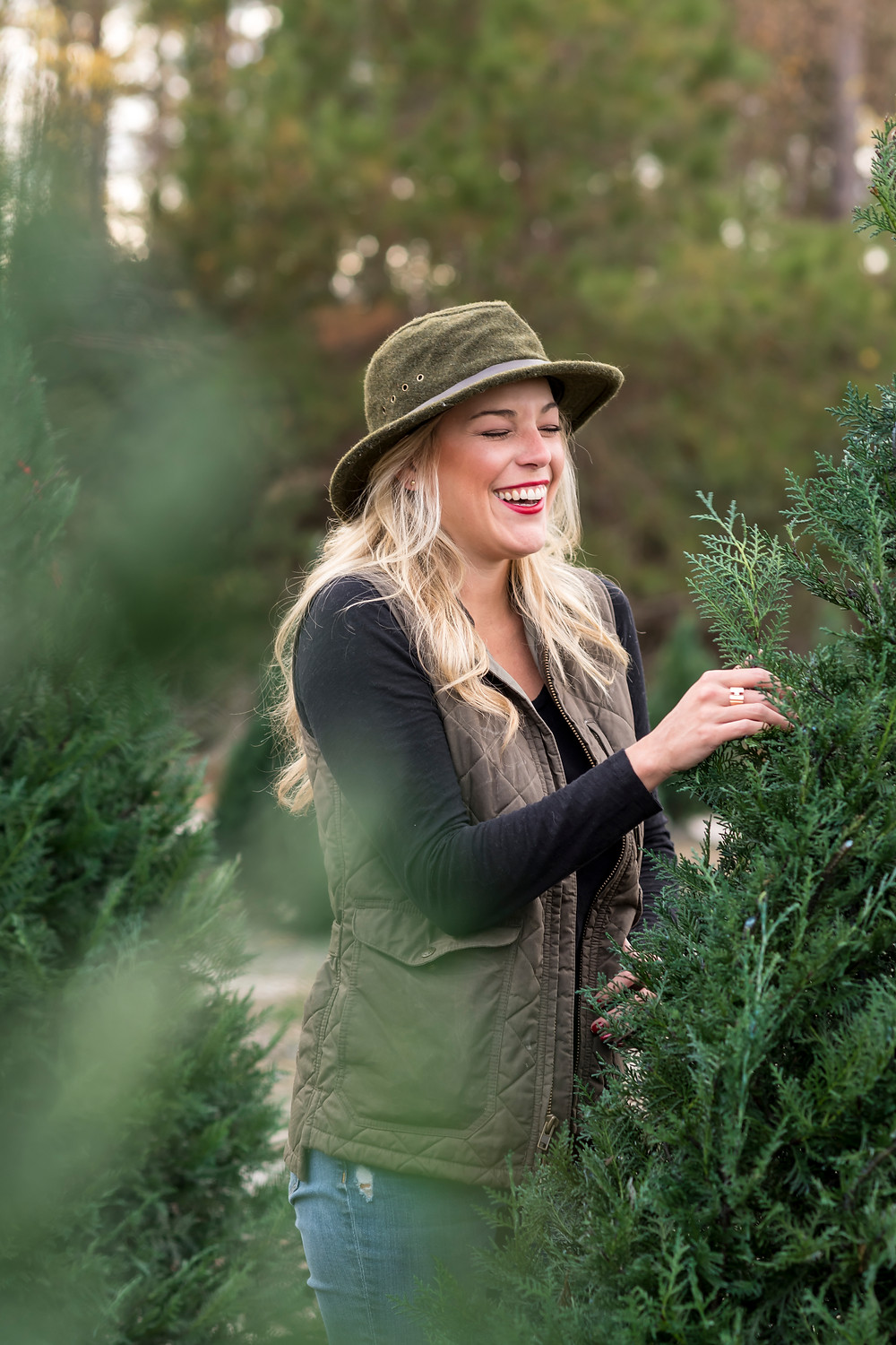 Brand Photography, Branding Photographer in Savannah Georgia, Salt & Shore Company, Truitt's Christmas Tree Farm