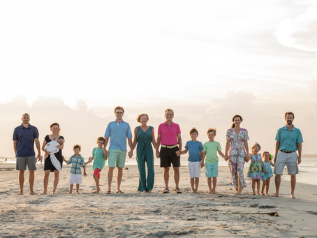 Hucks-Smith Family Session - Tybee Island, Georgia