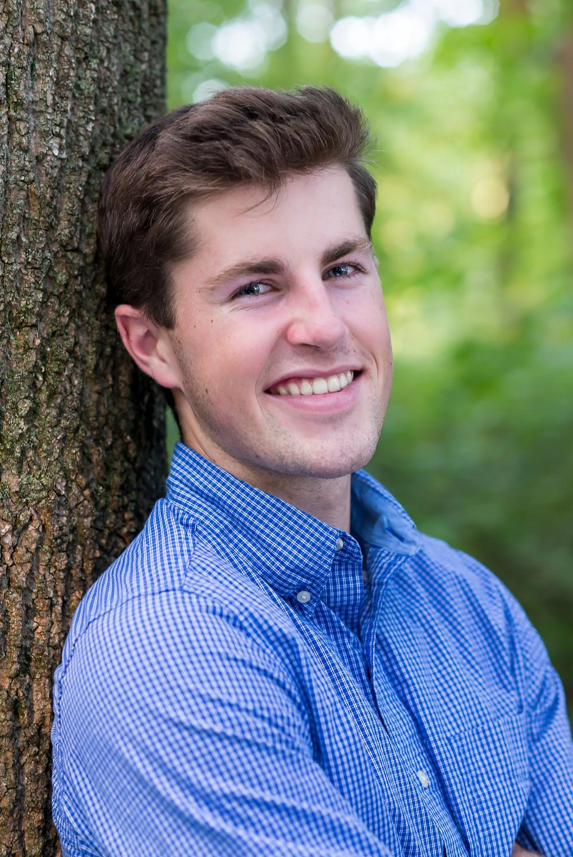 Cam's Senior Portrait - Senior Portrait in Savannah, Georgia - Outdoors