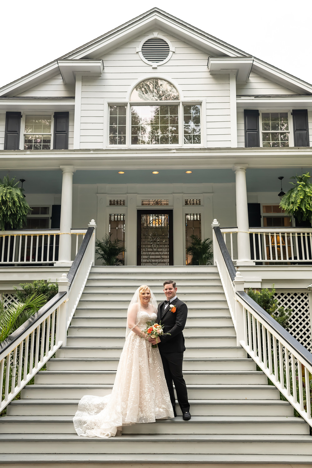 Hannah and Isaac's Mackey House Wedding in Savannah, Georgia.