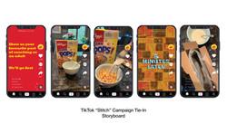 Tik Tok Stitch Campaign Tie In