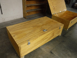 Custom Storage & Shipping Part Containers