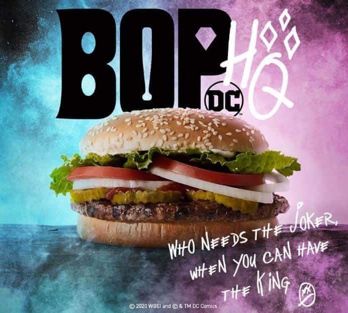 Burger King Harley Quinn Festive Marketing