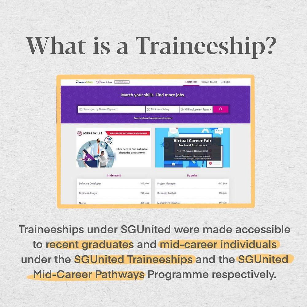 What is SGUnited Traineeship