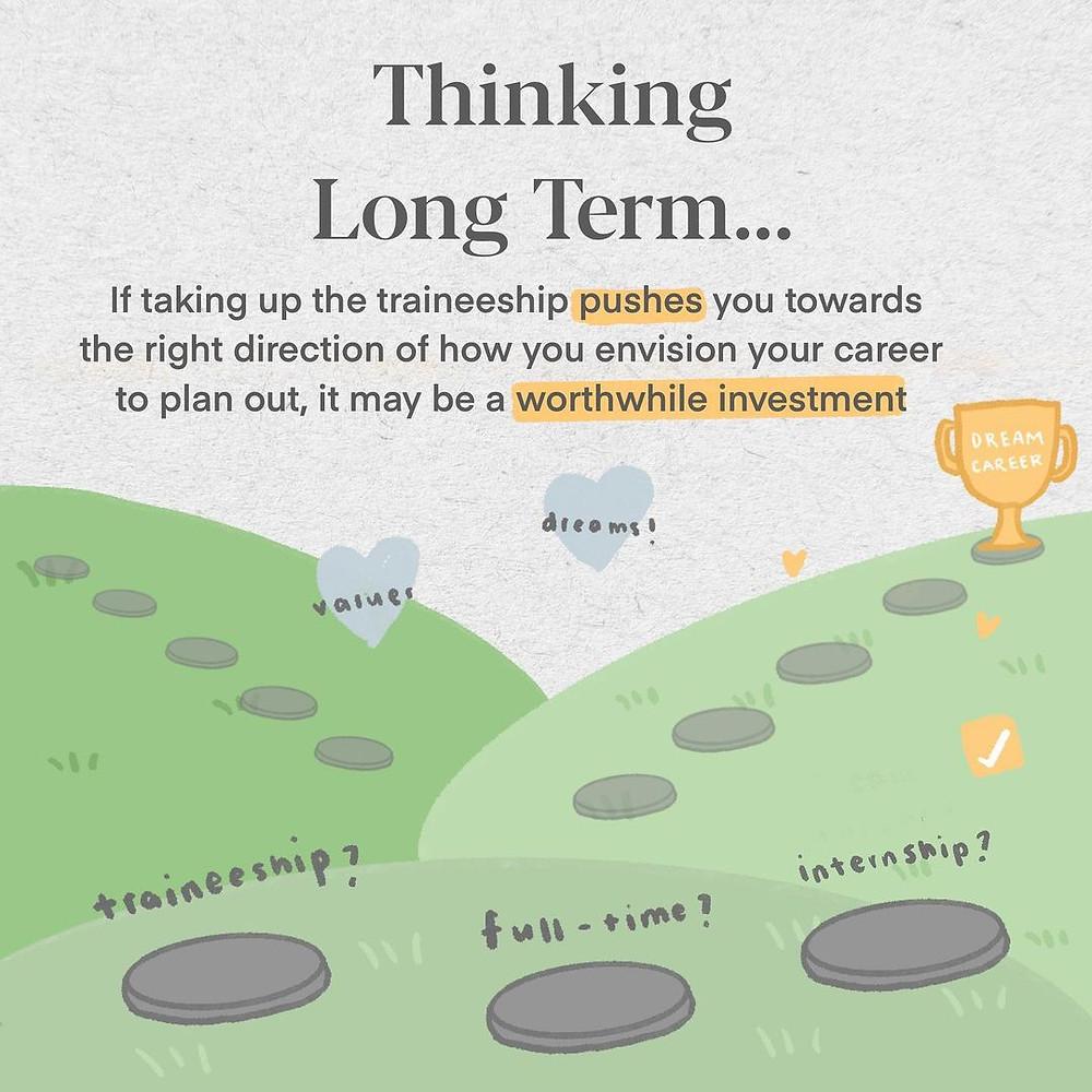 Thinking long-term for SGUnited Traineeships