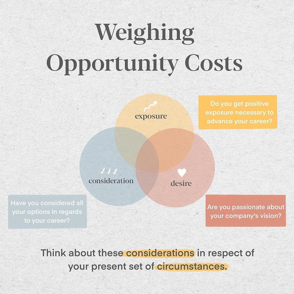 Weighing SGUnited Traineeship opportunity costs